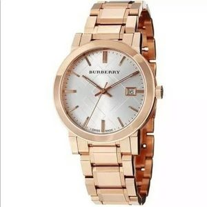 Burberry City BU9004 Rose Gold Stainless Watch